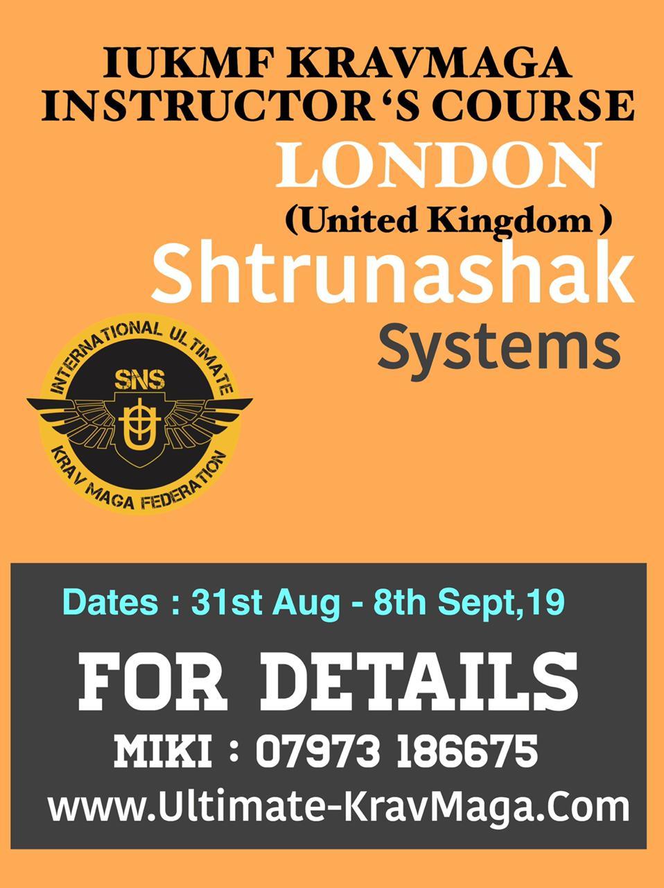 Civilian Instructor Course - London